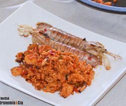 Receta de arroz en paella