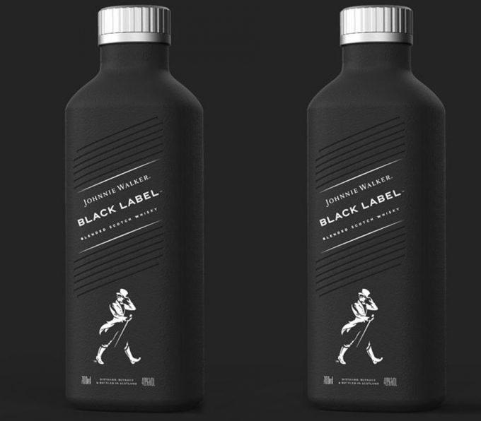 Botellas elaboradas con papel