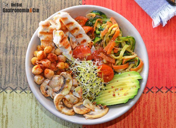 Comer verduras y frutas