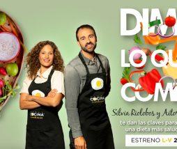 Programa sobre nutrición y recetas en Canal Cocina