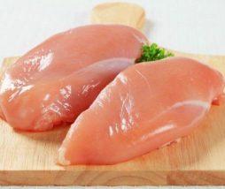 Estrias en la carne de pollo