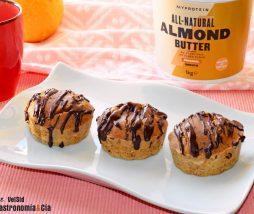 Receta de pastelito sin gluten, sin azúcar y sin leche
