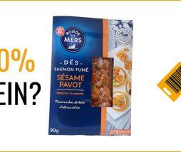 Envases medio vacíos en los productos alimenticios