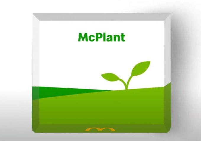 Propuestas de menús vegetales de McDonald's
