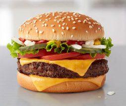 Hamburguesas vegetales de McDonald's