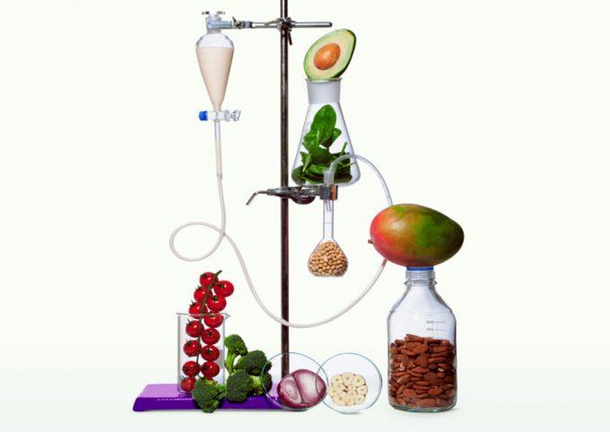 Leche vegetal elaborada con inteligencia artificial