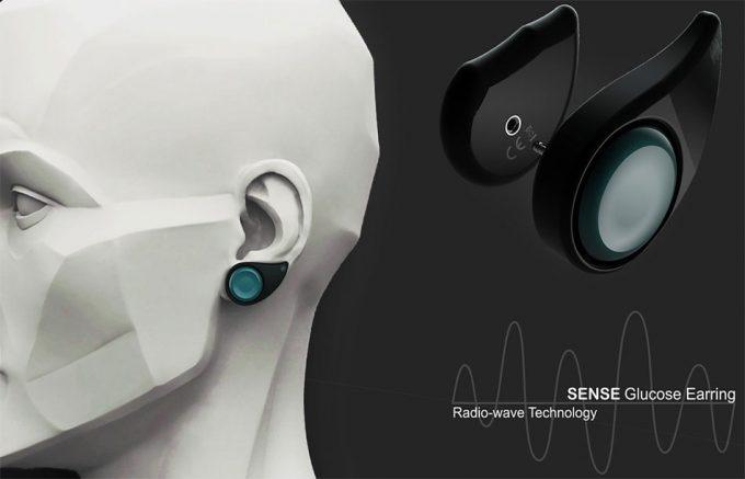 Sense Glucose Earring