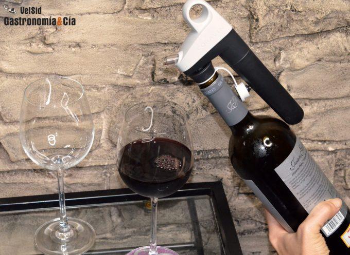 Preservar el vino descorchado cuatro semanas