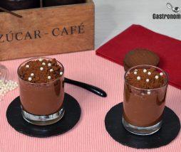 Receta de postre de chocolate