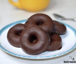 Receta de donuts en microondas