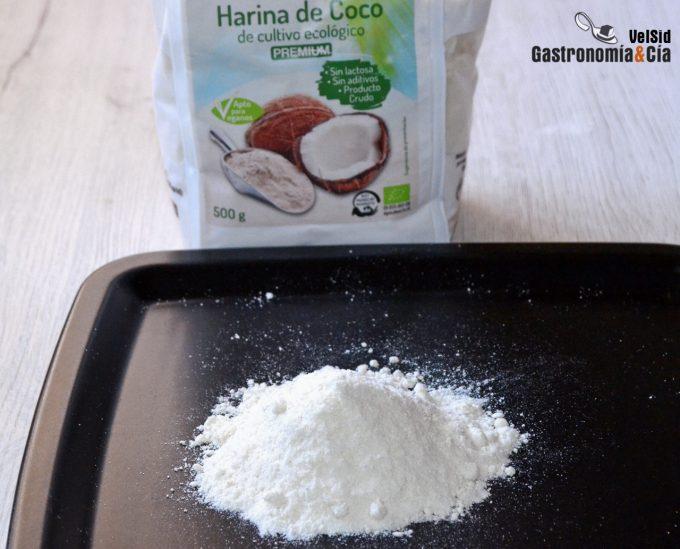 Recetas con harina de coco