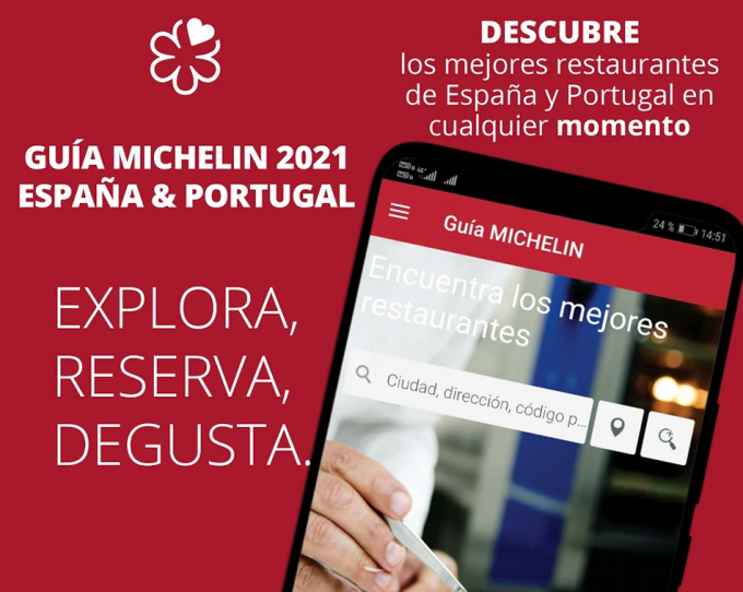 Guía Michelin de España edición digital