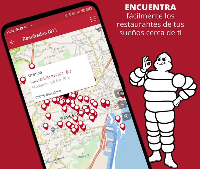 Michelin app
