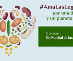 #AmaLasLegumbres por una dieta y un planeta sanos