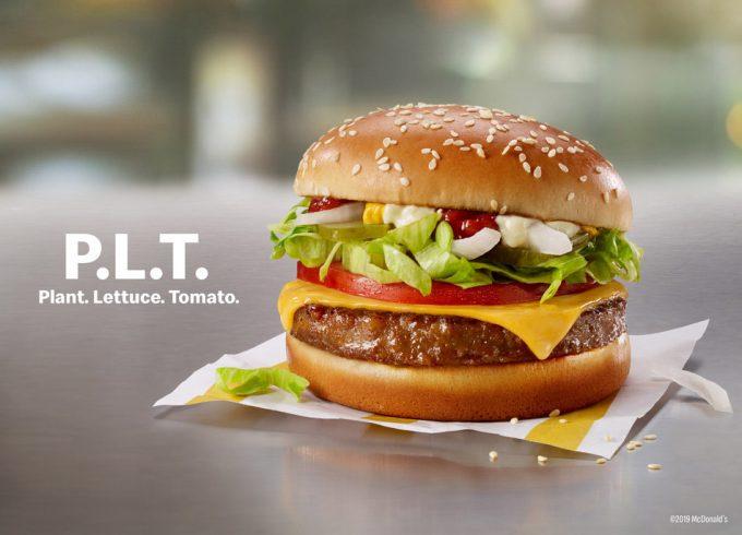 Hamburguesa vegana de McDonald's