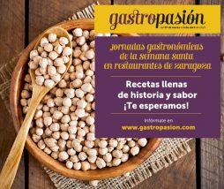 Jornadas Gastronómicas de Semana Santa en Zaragoza