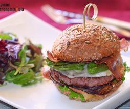 Burger casera