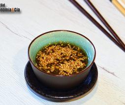 Receta de salsa para dumplings