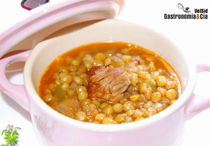 Recetas de legumbres y carne