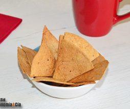 Receta de nachos caseros