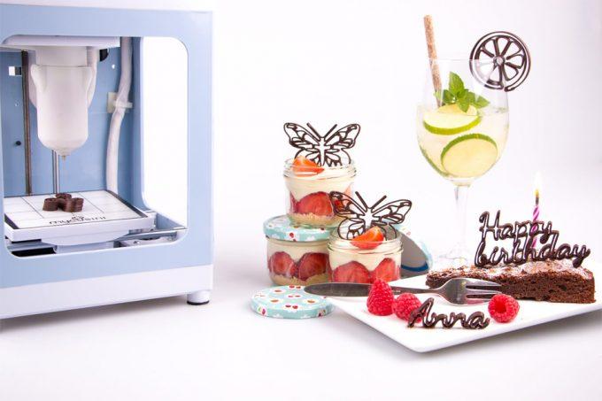 Impresora chocolate 3D