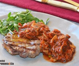 Recetas de champiñones con pollo, ternera, cerdo...