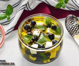 Receta de queso en aceite de oliva virgen extra