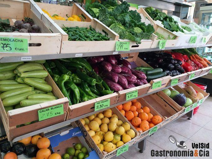 IVA cero en frutas y verduras
