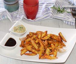Receta de patatas gajo con especias