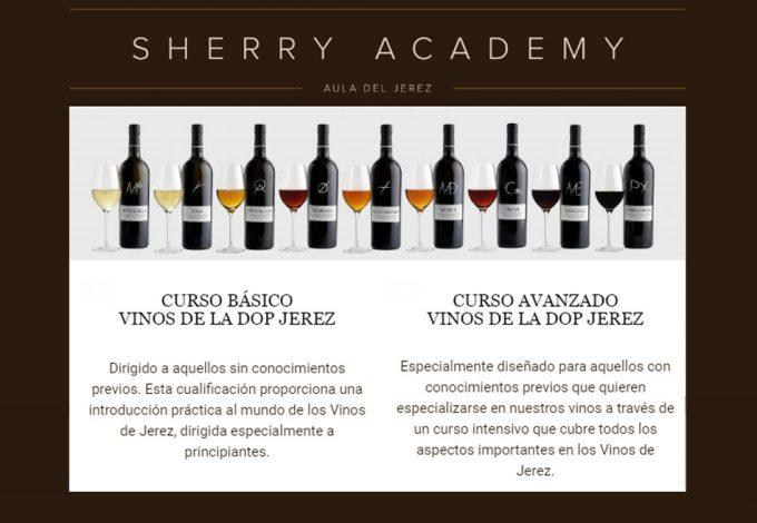 Curso online gratuito de Jerez y Manzanilla