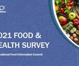 Encuesta de Alimentos y Salud 2021 en Estados Unidos
