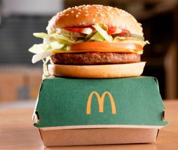Hamburguesas veganas de McDonald's