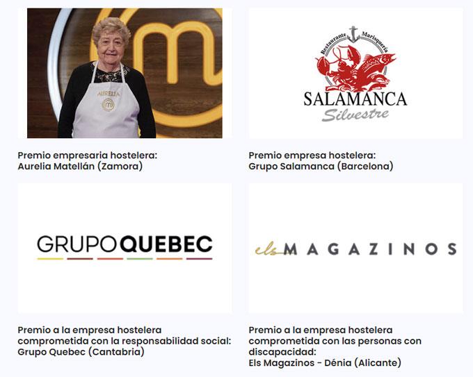 Premios Hostelería